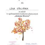 Jesienne drzewo – konkurs